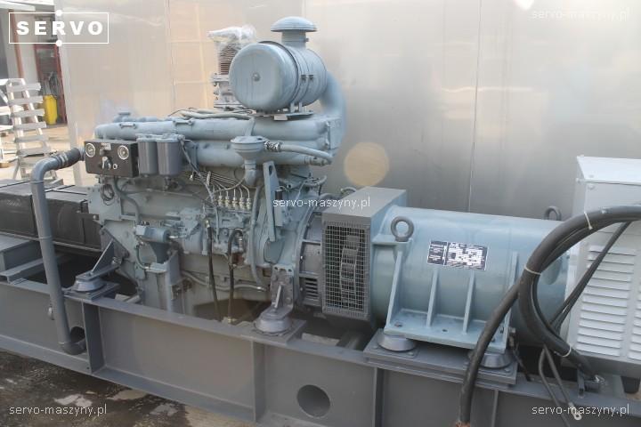 Agregat prądotwórczy Man DKBN49-150-4TS