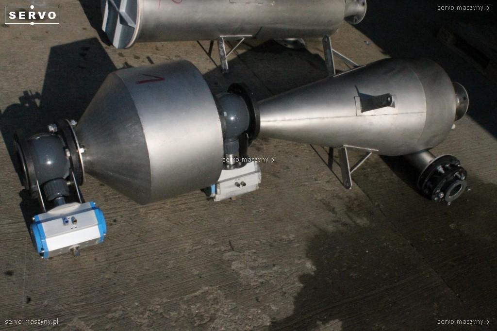 Zbiornik do pneumatycznego transportu odpadów Stork 1