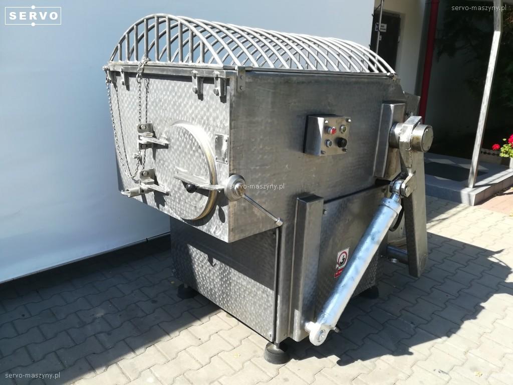 Спиральная мешалка с загрузчиком Spomasz 400 l