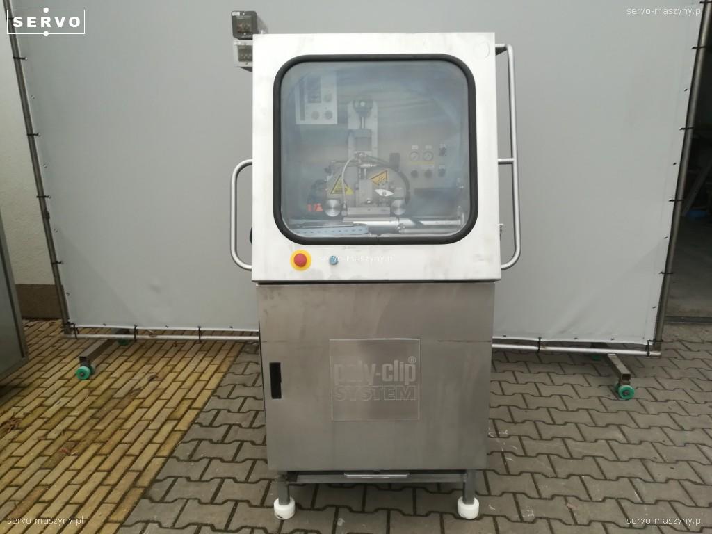Automat do zgrzewania osłonek do kiełbas Poly-clip TSA 120