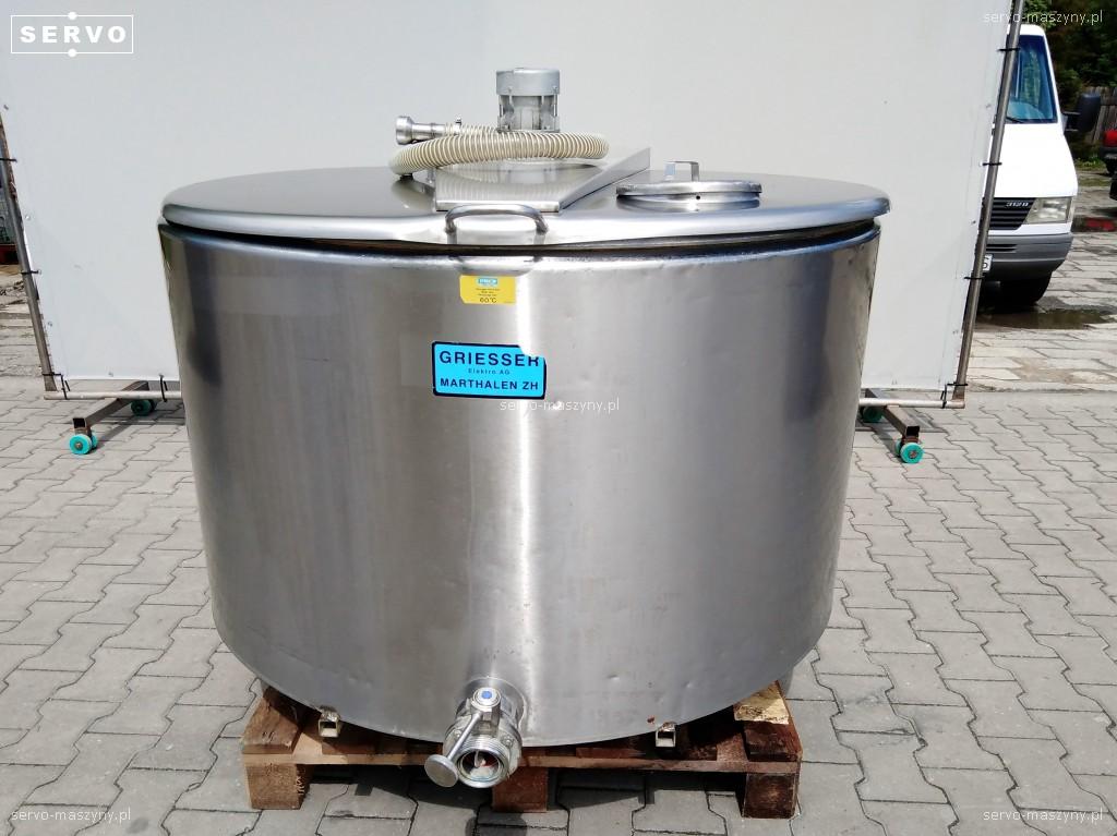 Pojemnik z chłodzeniem i mieszaniem Etscheid KW 700-2