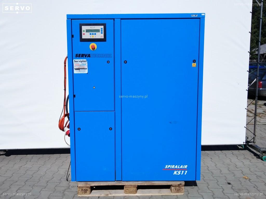 Kompresor śrubowy Worthington Creyssensac KS 11 WCO + osuszacz Pneumatech PH 55 HE