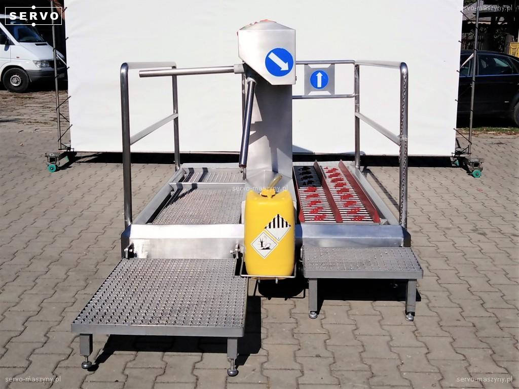 Stacja higieny z kołowrotkiem Itec 23890-C