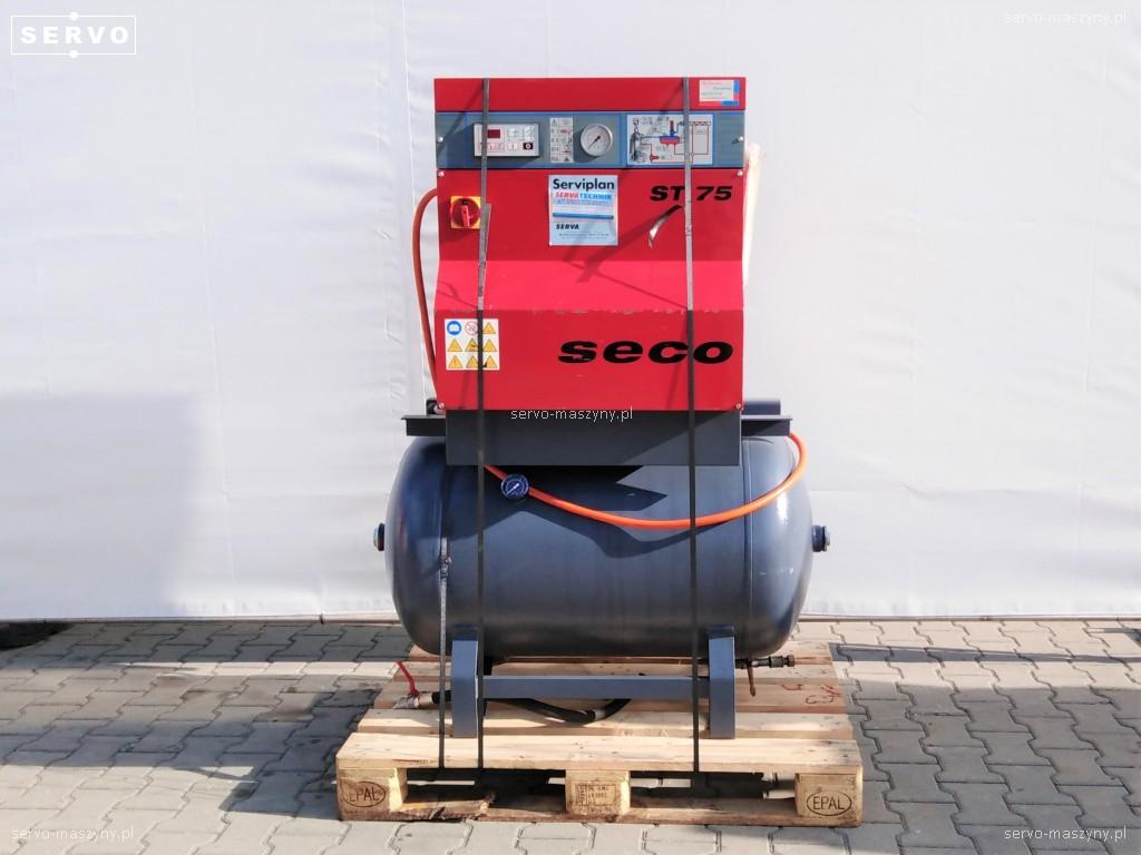Kompresor śrubowy Serva Technik STB-75-B + zbiornik CSC 272 L