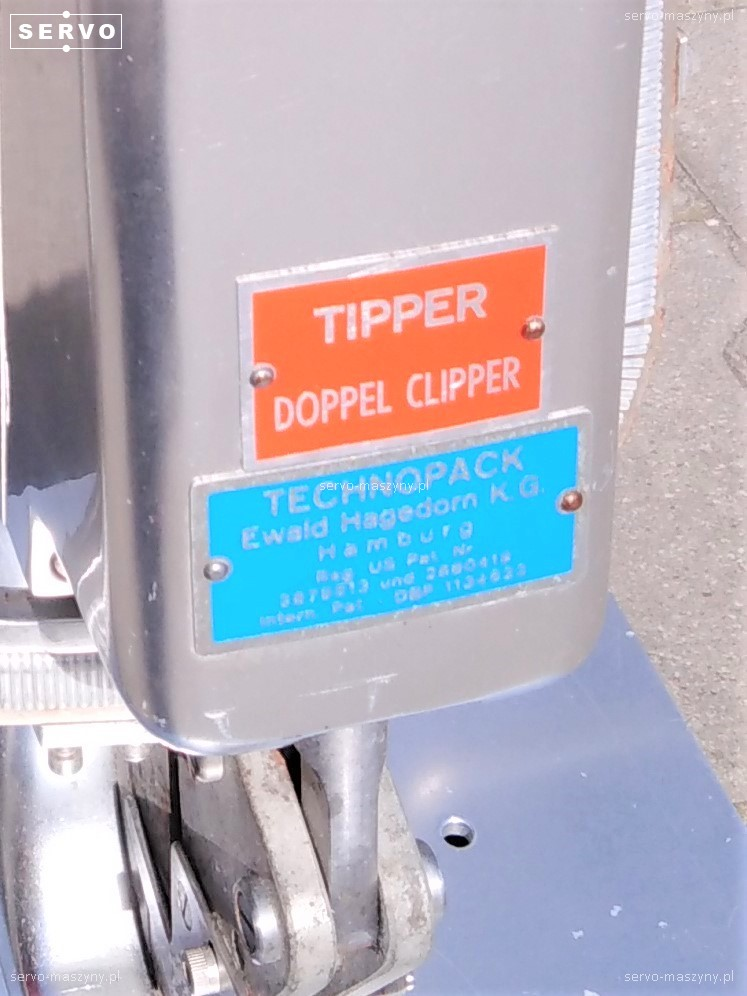 Klipsownica Technopack Tipper Doppel Clipper HDV 71/2.298