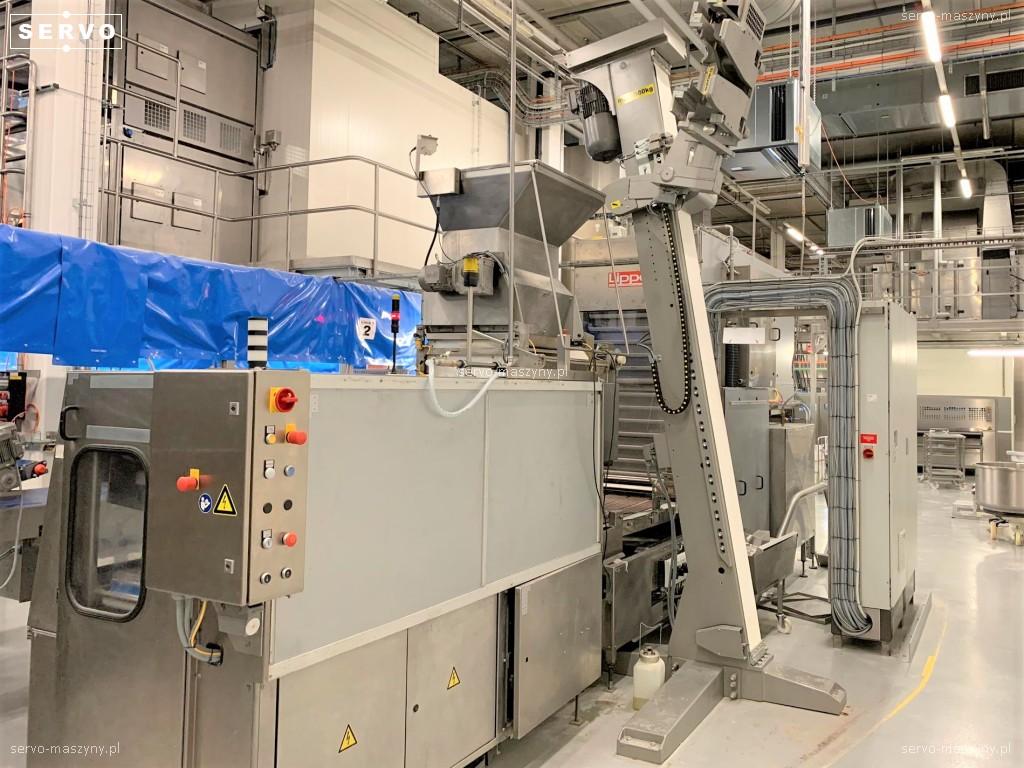 Linia do produkcji bułek König Lippelt