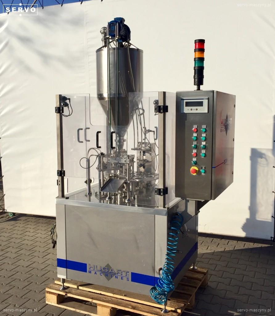 Rotacyjna maszyna napełniająco – zamykająca Hugart DS 2500