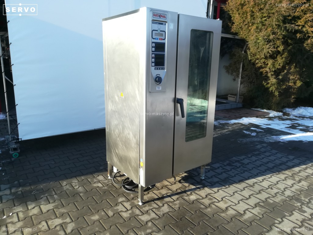 Used Pizza Ovens For Sale >> Oven Rational CPC 201 - Convection steam ovens / Pizza ovens