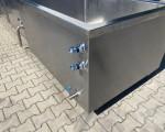 Zestaw 2 kotłów parowych plus pojemnik do schładzania Doleschal 2x600l #11