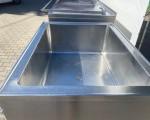 Zestaw 2 kotłów parowych plus pojemnik do schładzania Doleschal 2x600l #3