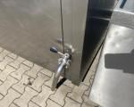 Zestaw 2 kotłów parowych plus pojemnik do schładzania Doleschal 2x600l #9