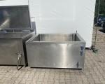 Zestaw 2 kotłów parowych plus pojemnik do schładzania Doleschal 2x600l #10
