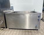 Zestaw 2 kotłów parowych plus pojemnik do schładzania Doleschal 2x600l #12