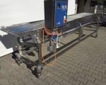 Transporter z taśmą nierdzewną CFS 3900 x 600 mm #5