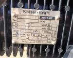 Wciągarka łańcuchowa Kaiser + Kraft  #1