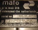Myjka do cymbrów Mafo 130 CK  automat #15